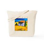 Cyprus, Akamathea Hut Tote Bag