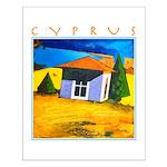 Cyprus, Akamathea Hut Small Poster