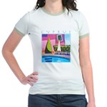 Cyprus, hottest day Jr. Ringer T-Shirt