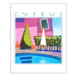 Cyprus, hottest day Small Poster