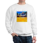 Cyprus, beached Sweatshirt
