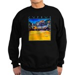Cyprus, beached Sweatshirt (dark)