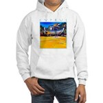 Cyprus, beached Hooded Sweatshirt