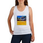 Cyprus, beached Women's Tank Top