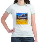 Cyprus, beached Jr. Ringer T-Shirt