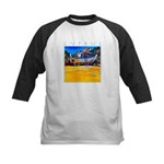 Cyprus, beached Kids Baseball Jersey