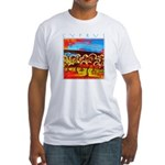 Cyprus, Olive Grove Fitted T-Shirt