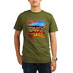 Cyprus, Olive Grove Organic Men's T-Shirt (dark)