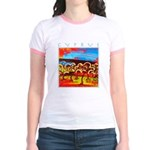 Cyprus, Olive Grove Jr. Ringer T-Shirt
