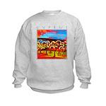 Cyprus, Olive Grove Kids Sweatshirt