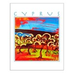 Cyprus, Olive Grove Small Poster