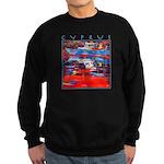 Cyprus, Latchi Harbour Sweatshirt (dark)