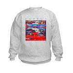 Cyprus, Latchi Harbour Kids Sweatshirt