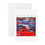 Cyprus, Latchi Harbour Greeting Cards (Pk of 20)
