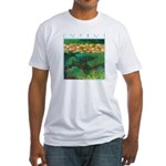 Cyprus, Akamas Village Fitted T-Shirt