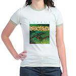 Cyprus, Akamas Village Jr. Ringer T-Shirt