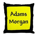 Adams Morgan Throw Pillow