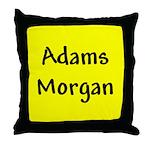 Adams Morgan Throw Pillow
