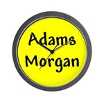 Adams Morgan Wall Clock
