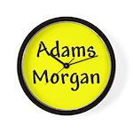 Adams Morgan Wall Clock