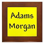 Adams Morgan Framed Tile