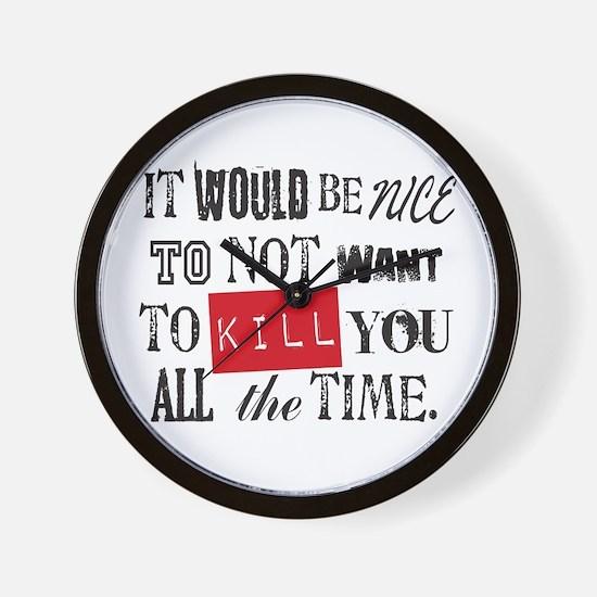 Funny Twilightforever Wall Clock