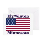 Ely Flag Greeting Card