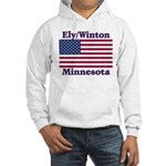 Ely Flag Hooded Sweatshirt