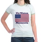 Ely Flag Jr. Ringer T-Shirt