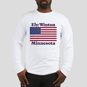 Ely Flag Long Sleeve T-Shirt