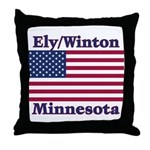 Ely Flag Throw Pillow