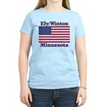 Ely Flag Women's Light T-Shirt