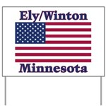 Ely Flag Yard Sign