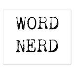 Word Nerd Small Poster