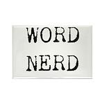 Word Nerd Rectangle Magnet (10 pack)