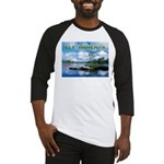Ely Wilderness Scene Baseball Jersey
