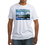 Ely Wilderness Scene Fitted T-Shirt