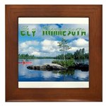 Ely Wilderness Scene Framed Tile