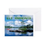 Ely Wilderness Scene Greeting Card