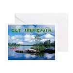 Ely Wilderness Scene Greeting Cards (Pk of 20)