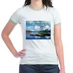 Ely Wilderness Scene Jr. Ringer T-Shirt