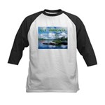 Ely Wilderness Scene Kids Baseball Jersey