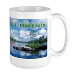 Ely Wilderness Scene Large Mug