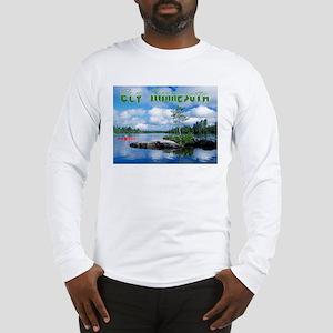 Ely Wilderness Scene Long Sleeve T-Shirt