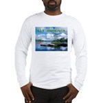 Ely Wilderness Scene Long Sleeve T-Shirt