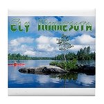 Ely Wilderness Scene Tile Coaster