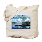 Ely Wilderness Scene Tote Bag