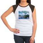 Ely Wilderness Scene Women's Cap Sleeve T-Shirt
