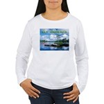 Ely Wilderness Scene Women's Long Sleeve T-Shirt