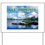 Ely Wilderness Scene Yard Sign